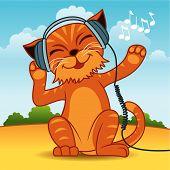Gato del auricular