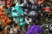 VENICE - SEPTEMBER 14: street carnival mask shop  on September 14, 2014 in Venice, Italy. The Carnival of Venice is an annual festival, held in Venice, Italy.