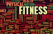 Fitness Concept for Weight Loss and Health
