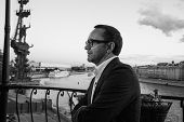 MOSCOW - JUNE, 25: Film Director Andrey Zvyagintsev (Film Leviathan). White party Hollywood Reporter Magazine at River Restorant, June 25, 2014 in Moscow, Russia