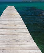 Pier Meditation Path filled with Love