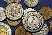 stock photo of zloty  - Coins of Poland - JPG