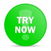 try now internet icon