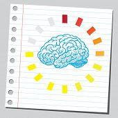 Process of loading brain