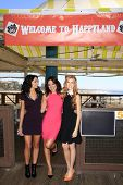 LOS ANGELES - SEP 24:  Bianca Santos, Katherine McNamara, Camille Guaty at the