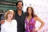 AVALON - SEP 27:  Maria St John, Kristoff St. John, Dana Derrick at the