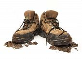 Muddy Workboots