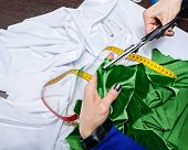 Fashion Designer Fabric Cuts