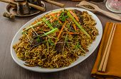 Stir Fry Singapore Noodles