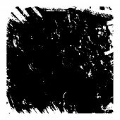 Black and white vector grunge texture. For creating grunge illustrations. Abstract background. Hand drawn. Texture background