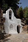Church Agios Nikolaos Crete Island In Greece