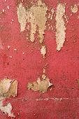 Grungy Red Cement Wall Texture