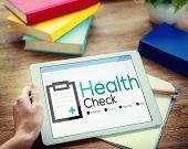 Health Check Diagnosis Medical Condition Analysis Concept