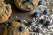 Blueberry Bran Muffins from Above