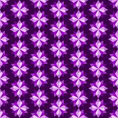 Violet Abstract Rhomboid Or Diamond Seamless Pattern