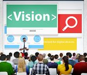 Vision Direction Objective Seminar Conference Learning Goals Concept