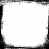 Grunge Style Photograph Frame