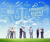 Employee Rights Employment Equality Job Business Communication Concept