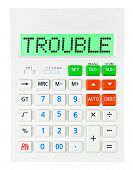 Calculator With Trouble
