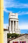 Triumphal Arch, La Turbie, Provence, France