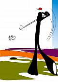 shadow man golf