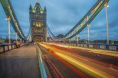 Tower Bridge: Blessed Blue Night Skies