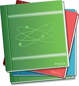 School Books of Science and Maths