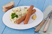 Potato Salad With Sausage And Mustard
