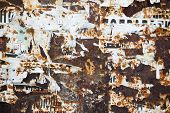 Rust and Torn Paper Posters