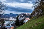 Evening View Of Salzburg