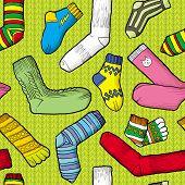 foto of knee-high socks  - Colored socks - JPG