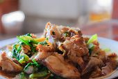 picture of grouper  - deep fried sweet and sour spicy sauce grouper fish - JPG