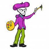 Zombie Skeleton Artist