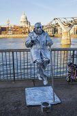 Street Entertainer In London