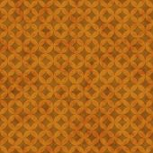 Orange Interconnected Circles Tiles Pattern Repeat Background