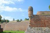 watchtower along the fefensive wall of Kalemegdan Fortress, Belgrade
