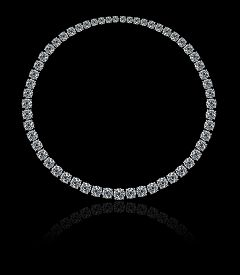 stock photo of collier  - A magnificent high jewellery collier  - JPG