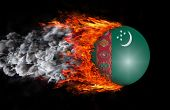 picture of turkmenistan  - Concept of speed  - JPG