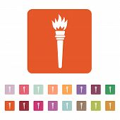 picture of torches  - The torch icon - JPG