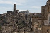 pic of sassy  - Matera in Italy with its caratheristics Sassi troglodyte houses - JPG
