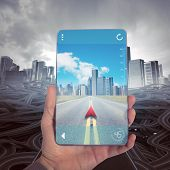 picture of gps navigation  - Reach a right destination with GPS Navigator - JPG