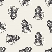 pic of grim-reaper  - Grim Reaper Doodle - JPG