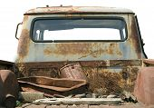 Old Pick Up Truck, Isolated