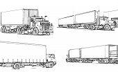 Camiones ilustrados