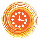 time icon, vector