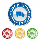 shopping tag - free delivery