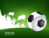 green football poster