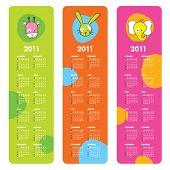 Bonitos calendários 2011