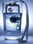 Water and digital camera