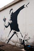 Graffiti de Banksy